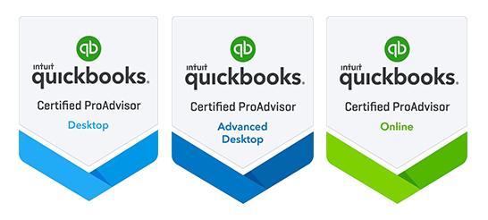 QuickBooks Badges