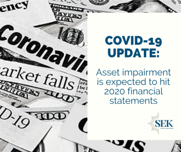 Asset impairment is expected to hit 2020 financial statements