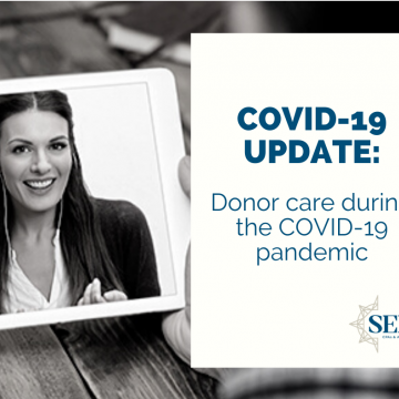 Donor care during the COVID-19 pandemic