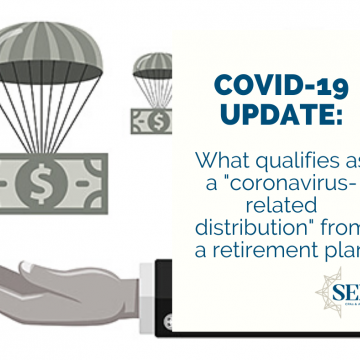 "What qualifies as a ""coronavirus-related distribution"" from a retirement plan?"