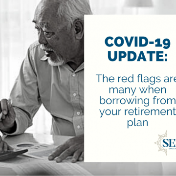 The red flags are many when borrowing from your retirement plan