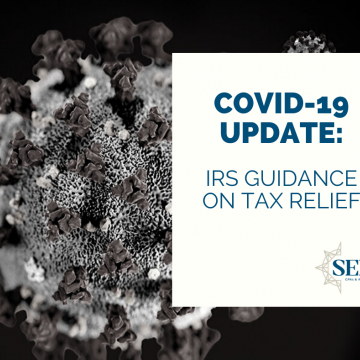 IRS guidance on tax relief